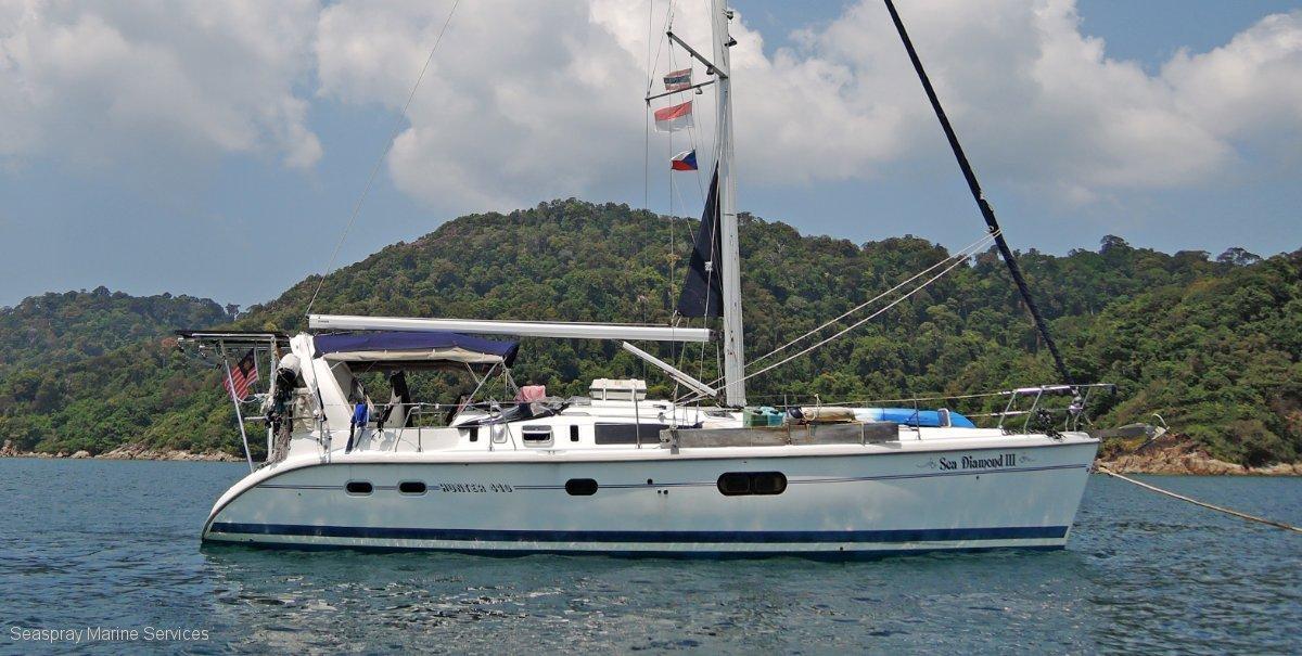 Hunter 41 Yacht For Sale in Langkawi.:Hunter yacht for sale Langkawi Boat sales