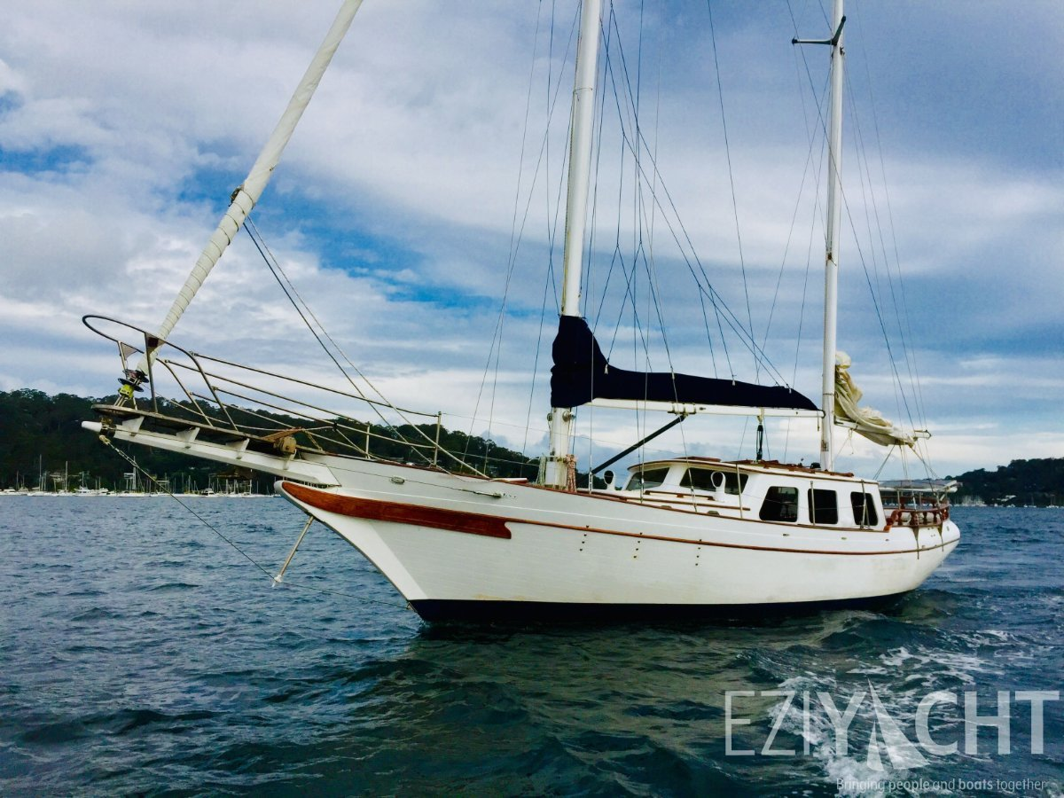 Formosa CT 41 - Beautiful Classic Cruising Ketch in fibreglass:Formosa CT-41 Pilothouse Ketch